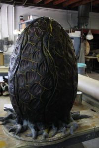 Alien Egg for the series 'Scare Tactics'