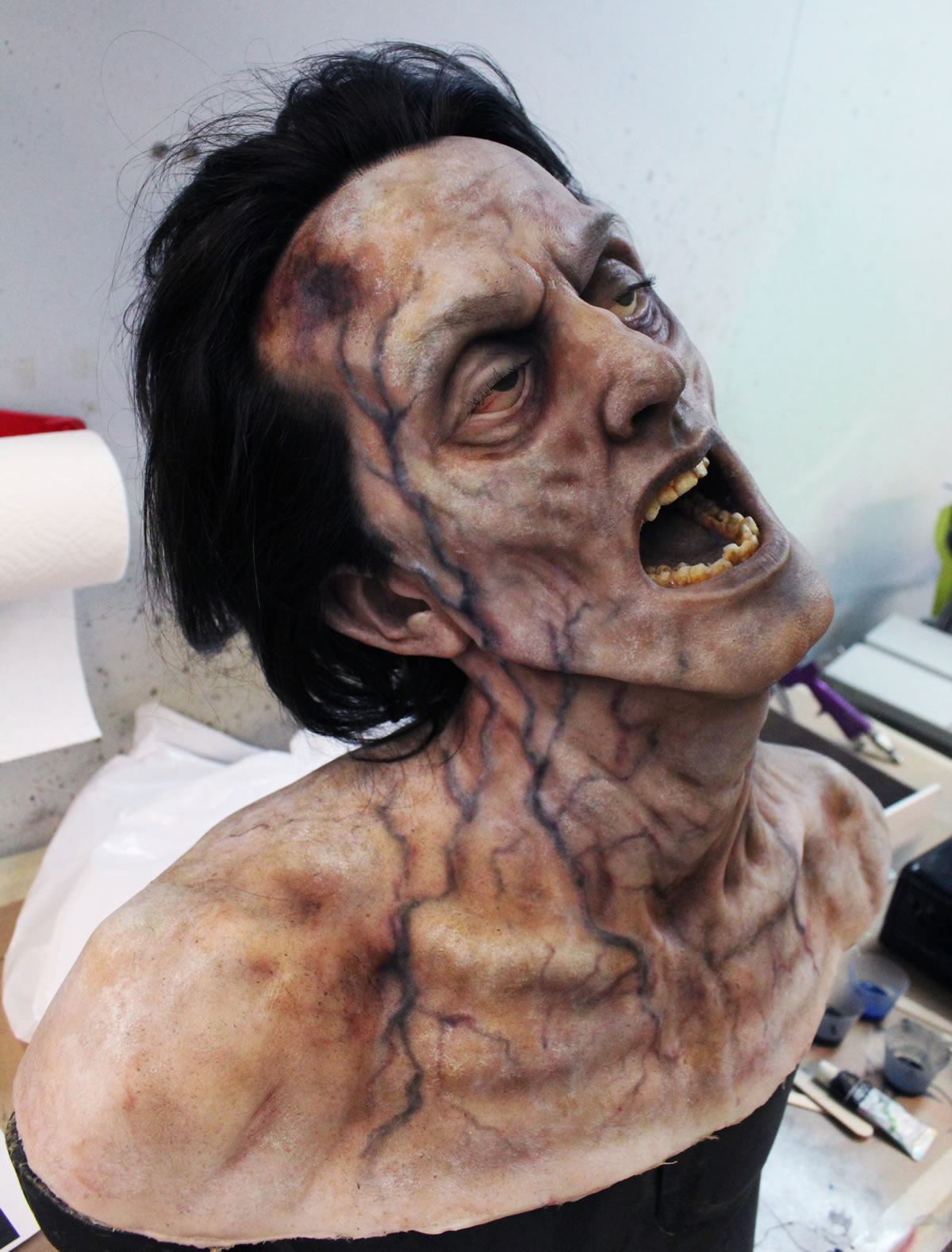 Dehydrated head for the IFC series 'Stan Against Evil'