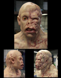Diseased Head for 'Fall of Man' video game commercial