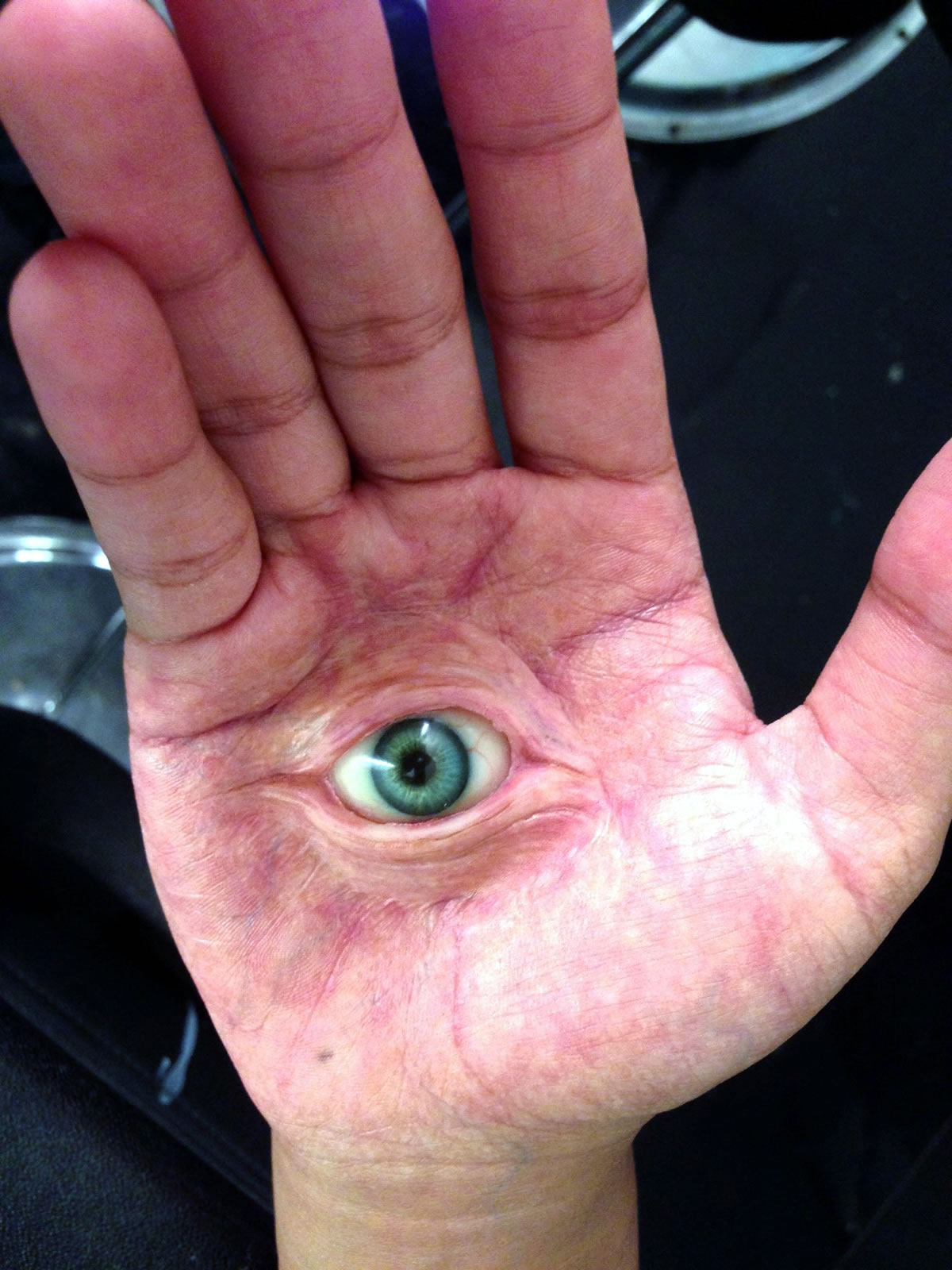 Eye in hand appliance for the Disney series 'Mighty Med'