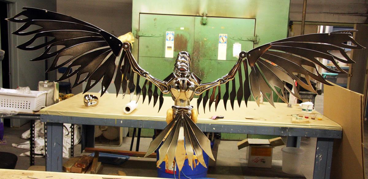 Full Bird prop for Editorial