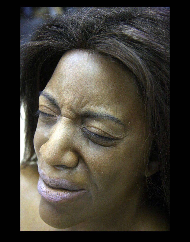 Generic African American female head