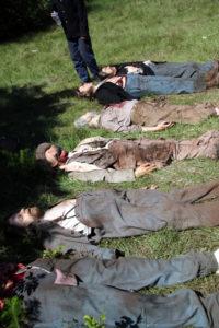 Generic Confederate bodies for 'Abe Lincoln - Vampire Hunter'