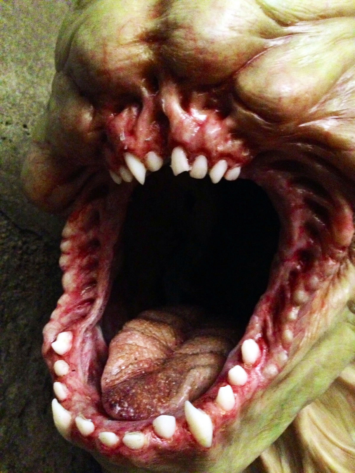 Griever Mouth from 'The Maze Runner'