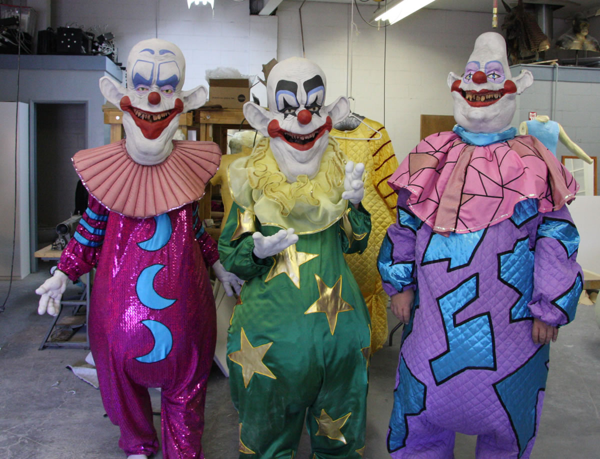 'Killer Klown' Suit reproductions