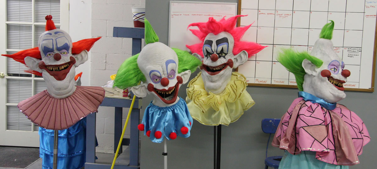 'Killer Klowns' Reproduction Masks