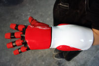 Silicone and Fiberglass glove for Japanese commercial