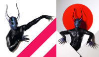Strange Alien Creature for fetish clothing store commercial