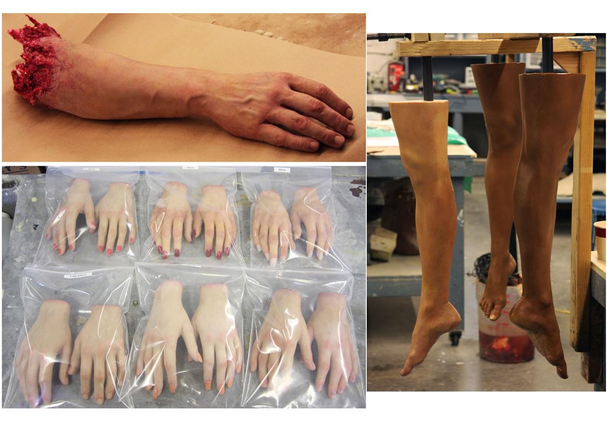 Various Body Parts