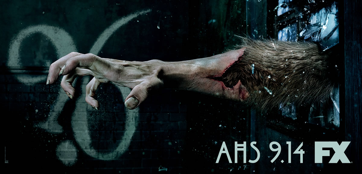 Werewolf Transformation Hand for 'American Horror Story' Season 6 Promo Campaign